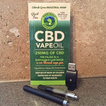 250mg CBD Vape Oil Cartridge & Pen