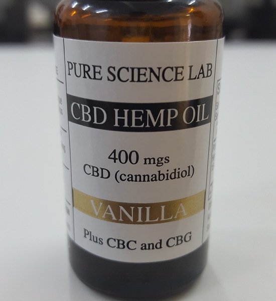 Bulk Order CBD Oil - 4800 mgs Vanilla CBD Organic Hemp Oil - Pure Science Lab