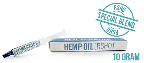 RSHO Hemp CBD Oil paste