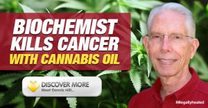 Biochemist Dennis Hill