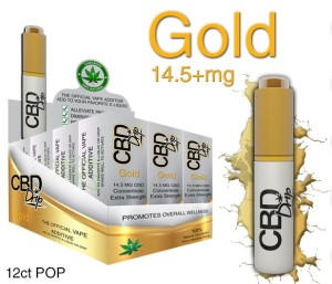 CBD Drip Gold - The Official Vape Additive