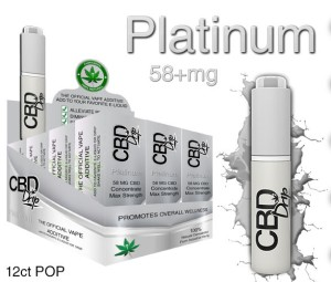 CBD Drip Platinum - The Official Vape Additive