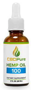 CBDPure Hemp Oil Extract 100 mg
